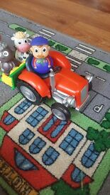 Weebles wobbles tractor