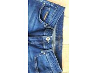Jane Norman Women's Size 8 3/4 length skinny jeans