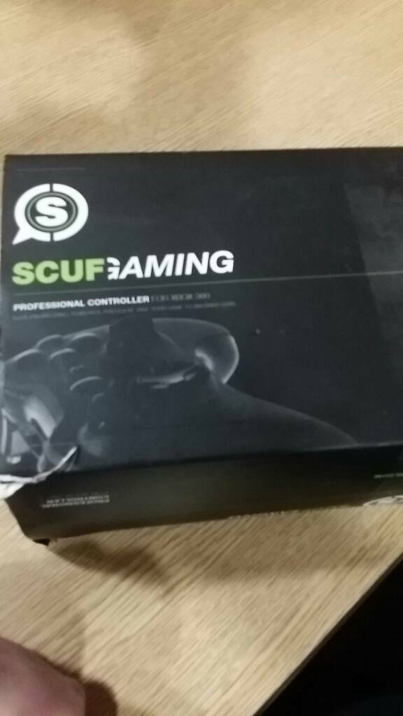 SCUF XBOX 360 WIRED CONTROLLER