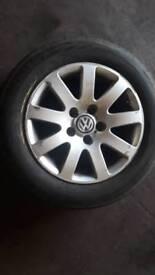 VW 5 stud alloys 15 inch