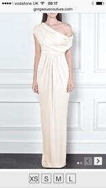 STUNNING 3x blush Maxi Bridesmaid Dresses: Gorgeous Couture (RRP £567)