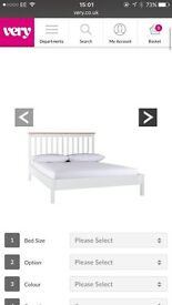 King size bed and luxury mattress