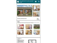 £89,000 One bed bungalow in Lakenheath Village, Suffolk. With parking space For Sale