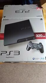 Play station 3, 320gb 17 games