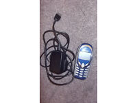 Siemens A55 - Blue (T-Mobile) Mobile Phone