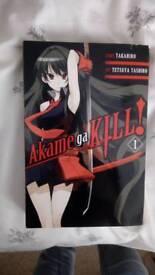 Akame ga kill volume 1