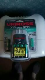 Uniross battery charger new