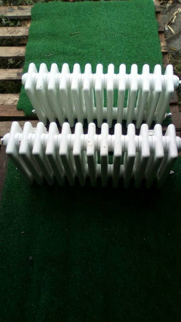 Pair of radiators 4 column 600x300