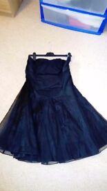 Black short dress size 12