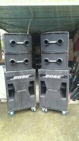 Bose 802 and 302 speakers