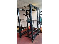 Gym Equipment Power Cage - Squats Rack - Bench Press - Deadlifts - Pull-ups - Dips