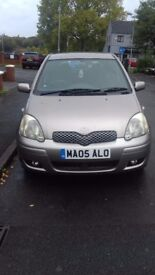 Toyota yaris for sale. Good little run around and great on petrol. Not to be missed!