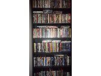 Dvd's with shelf