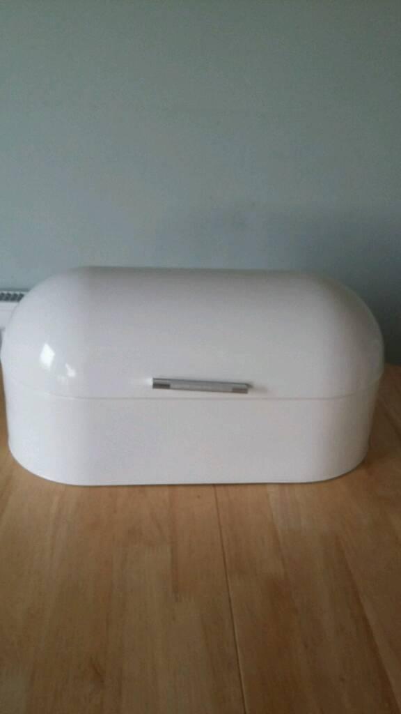 George Home Bread Bin - Cream