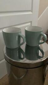 John Lewis Mint Mugs (set of 4)