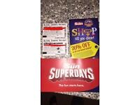 2 Alton towers tickets 13/07/2017