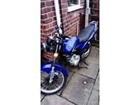 12 months mot 125cc motor bike