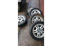 BMW E36 16 inch Wheels & Tyres