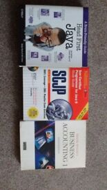 Java and accounting books