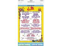 V Festival Hylands Park Weekend Tickets X 2