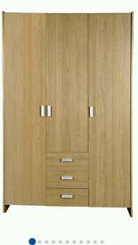 Capella 3door 3draw large wardrobe