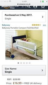 Brand New Toddler Bed Guard Rail