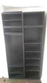 Useful shelving unit, good condition