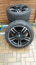 BMW wheels / tyres 1 month old 245/45/18 not run flat
