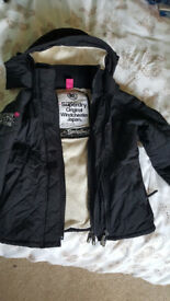 Superdry windcheater coat. Size small