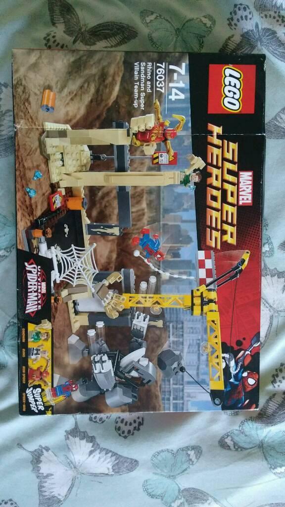 Brand new Lego marvel 76037