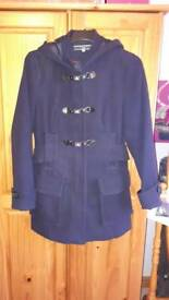 Navy Coat (size 14)