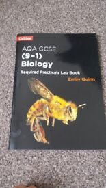 GCSE AQA BIOLOGY REQUIRED PRACTICALS LAB BOOK *NEW*