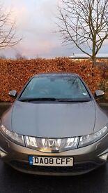 Honda Civic 2.2i CTDi EX 5dr (leather/panoramic roof/satnav)