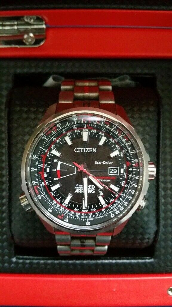 citizen limited edition red arrows watch