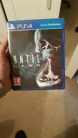 Until Dawn PS4 Game Excellent Condition