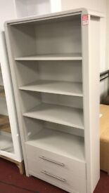Large Grey colour Display Cabinet with drawers