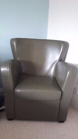 Leather Armchair in immaculate condition