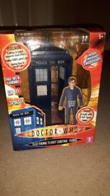 Doctor Who Electronic Flight Control Tardis - Excellent Boxed Condition
