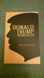 Donald trump in 100 facts. Brand new 2018 paperback book