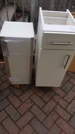 Kitchen Base and Wall Units with doors and handles, 300mm width ***NEW***