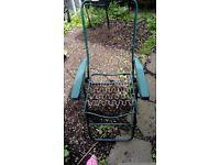 Garden sunlounger frame