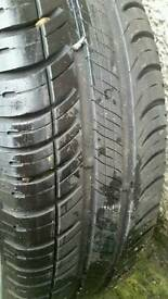 Tyres with ram