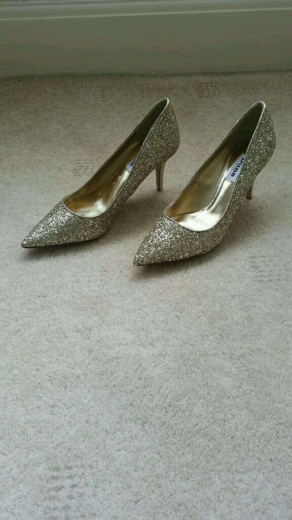 Dune sparkly shoes for sale size 6