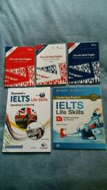 Life in the UK and IELTS books