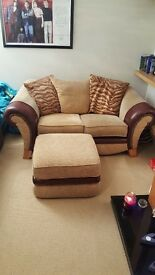 Cosy Sofa 2 Seater and matching footrest