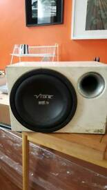 10' VIBE SUBWOOFER WITH BUILT IN AMP 600WATTS