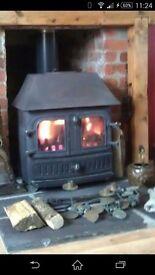 Multifuel stove 7-8 kw