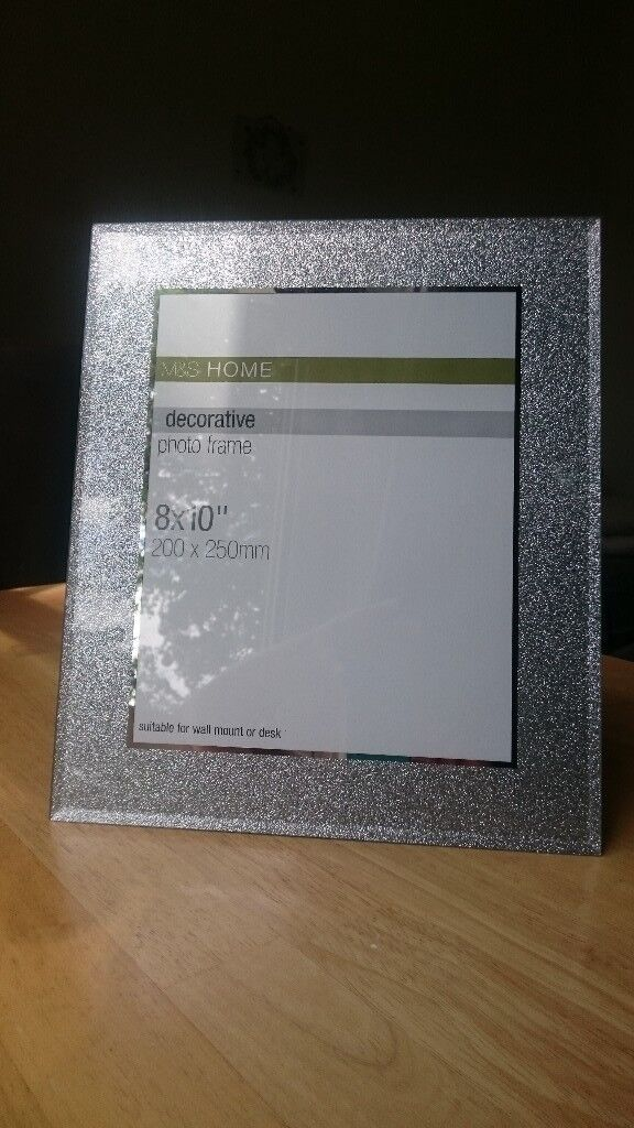 Ms Glass Decorative Photo Frame 8x10 In Aigburth Merseyside