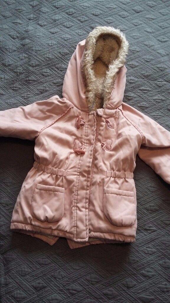 Girls winter coat , size 18-24 months