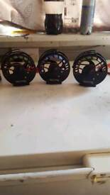 Marco Cortesi fly reels x3 brand new never used perfect condition